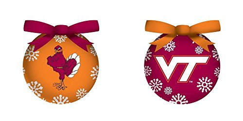 Virginia Tech Boxed LED Ornament Set