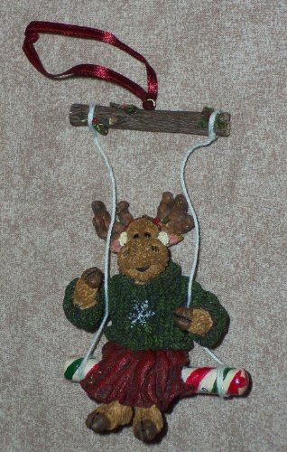 """Boyds ~ """"Matilda Mooselswing"""" ~ (Critter & Co.) Ornament"""
