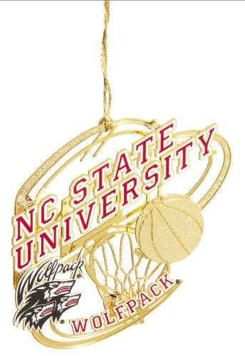 Baldwin North CarolinaáState UniversityáBasketball 3-inch Sports Ornament