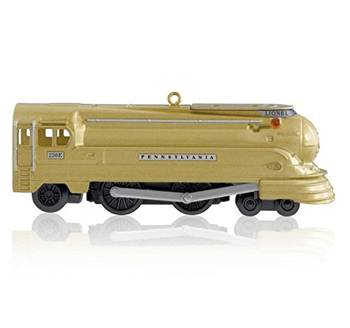 Hallmark 2014 Limited Edition Pennsylvania Torpedo Locomotive Lionel Trains Ornament