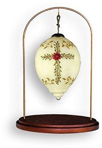 Ne'Qwa Petite Hanging Ornament Stand, Walnut Finish