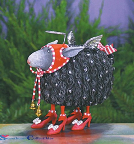 Patience Brewster Barbara Black Sheep Ornament 08-30917