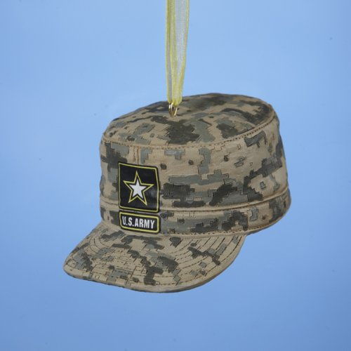 U.S. Army Combat Uniform Cap Christmas Ornament 3″