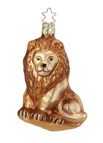 Inge-Glas Grand Mane Christmas Ornament