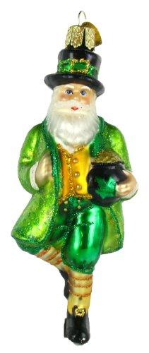 Old World Christmas Irish Santa Ornament