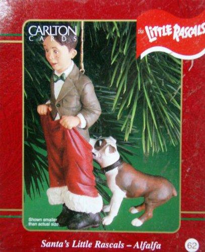 Little Rascals – Our Gang – Alfalfa – Santa's Little Rascals 2000 Carlton Cards Christmas Ornament
