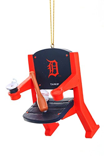 Detroit Tigers Official MLB 4 inch x 3 inch Stadium Seat Ornament