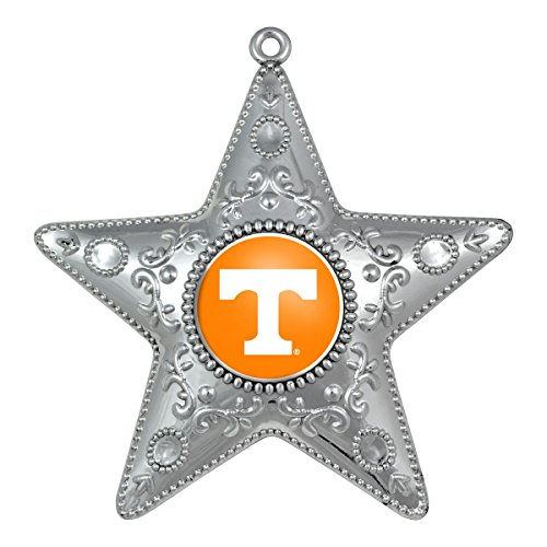 Tennessee Volunteers Silver Star Ornament