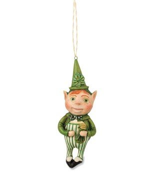 Bethany Lowe St Patrick's Day – Lucky Leprechan Ornament HH4856