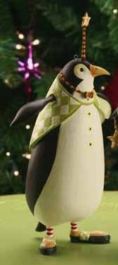 Patience Brewster Thaddeus Penguin Ornament