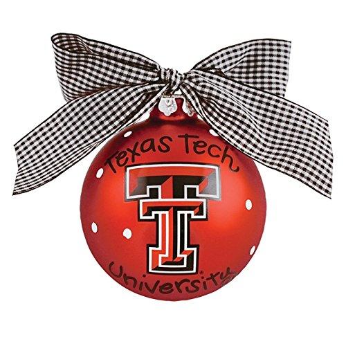 TX Tech Logo Ornament