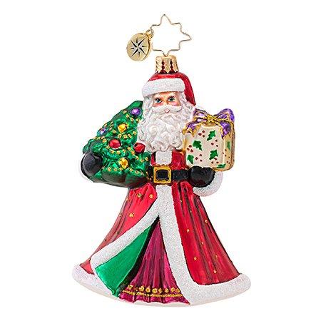 Christopher Radko Joyful Visitor Ornament