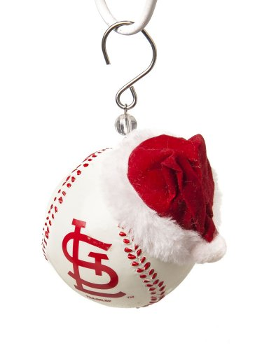 St Louis Cardinals Baseball Christmas Ornament