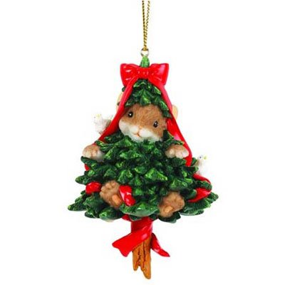 Charming Tails Christmas Tree Surprise Ornament