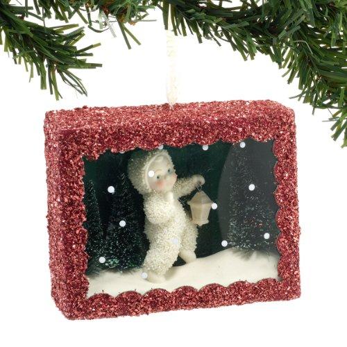 Snowbabies Star-Lit Stroll Box Ornament, 3.5-Inch
