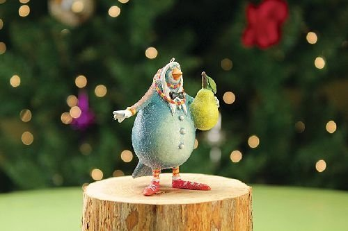 Patience Brewster Mini Partridge Ornament