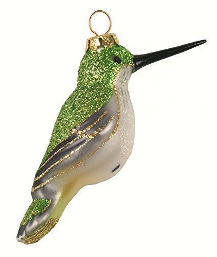 Female Ruby-Throated Hummingbird Ornament