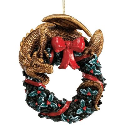 Design Toscano NG34246 Twist and Twirl Dragon Ornament
