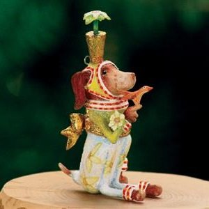 Patience Brewster Mini Pointsittier Ornament