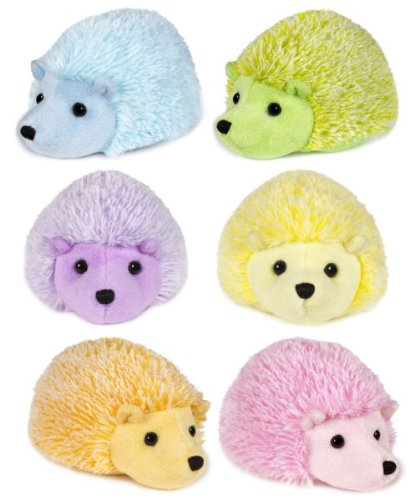 Ganz Sorbet Hedgehog, Set of 6 Assorted