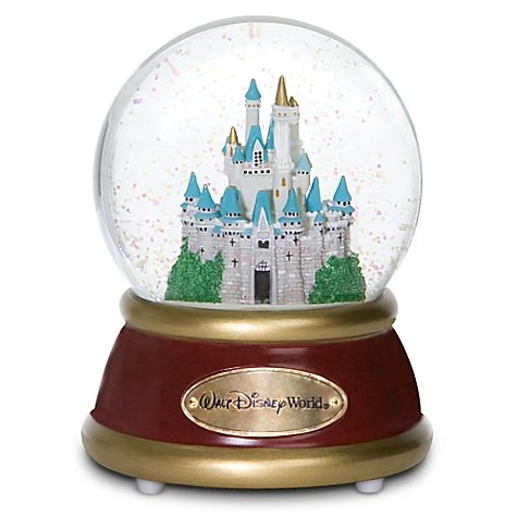 Walt Disney World Cinderella's Castle Musical Snowglobe