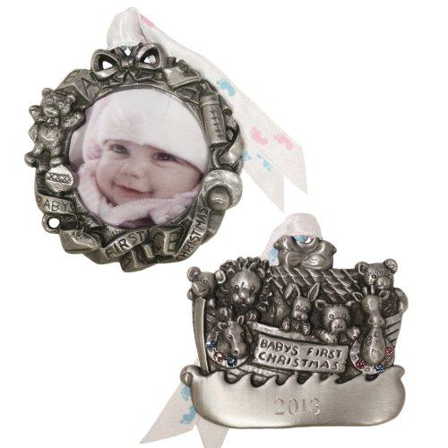 Gloria Duchin 2-Piece Baby's First Ornament Gift Set