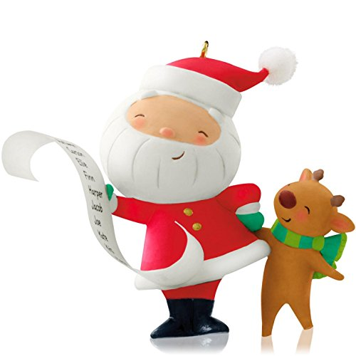 Hallmark 2014 Kringle and Kris 1st in Series Ornament