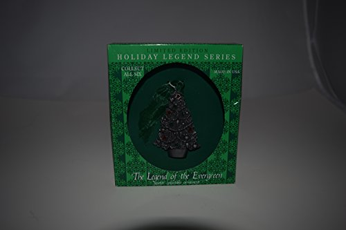 The Legend of the Evergreen Pewter Collectible Ornament