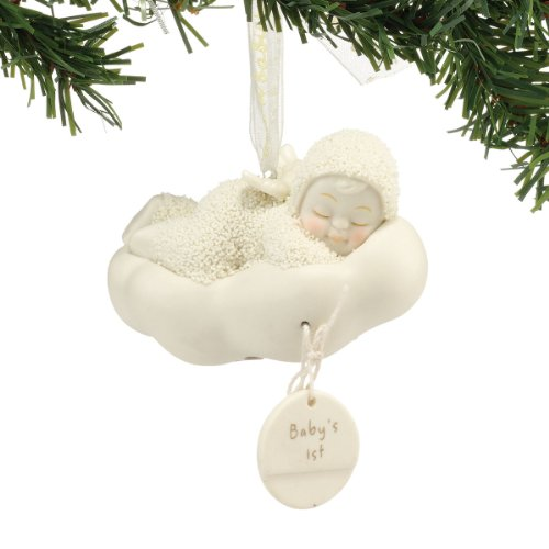 Snowbabies Baby's First Ornament, 3-Inch