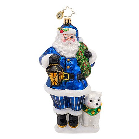 Christopher Radko True Blue Companions Ornaments