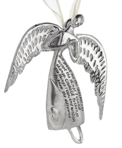 Serenity Angels MidWest CBK Serenity Prayer Ornament