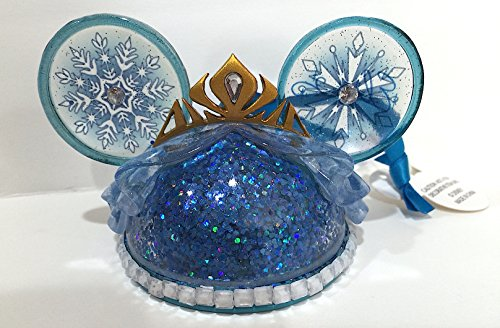 Disney Parks Princess Elsa from Frozen Mickey Mouse Ears Hat Ornament
