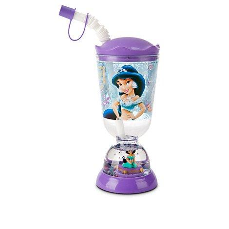 Disney Kids Snowglobe Tumbler with Straw (Jasmine)