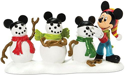 Department 56 Disney Village Accessory Figurine, The 3 Mouseketeers