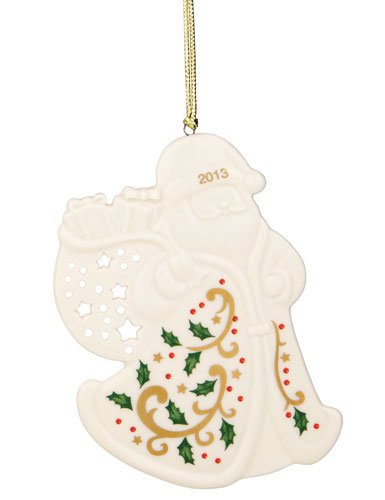 Lenox 2013 Joyous Tidings Santa Ornament
