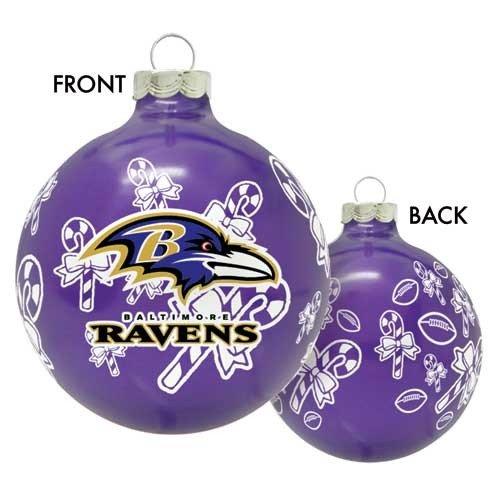 NFL Baltimore Ravens Traditional 2 5/8″ Ornament