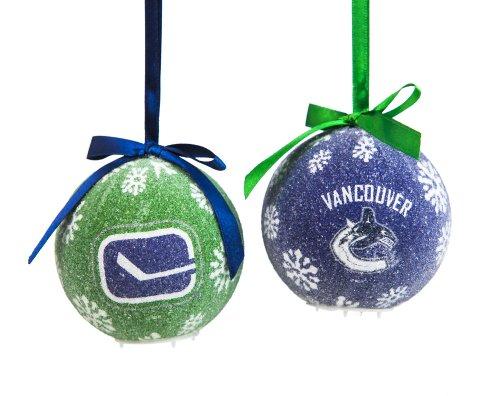 Vancouver Canucks Boxed LED Ornament Set