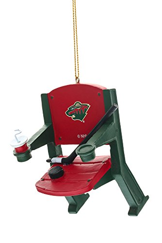 Stadium Chair Ornament, Minnesota Wild