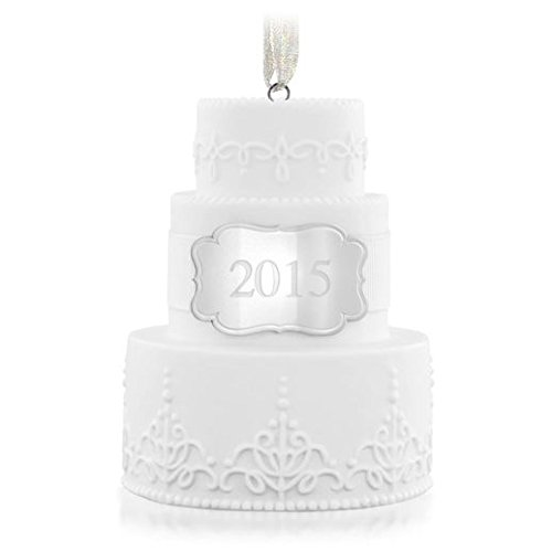 Hallmark 2015 – Wedding Cake Ornament – Keepsake Ornament