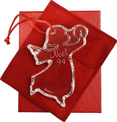 Baccarat 1994 Christmas Ornament