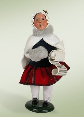 Traditional Girl Caroler
