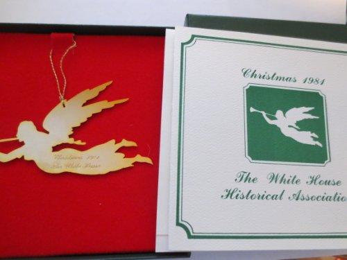 White House Historical Association 1981 Christmas Tree Ornament