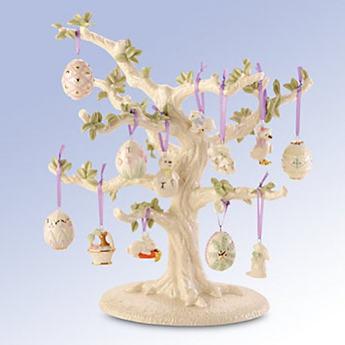 Lenox Set of Ornaments for Ornament Tree (Tree Not Included) (Easter)