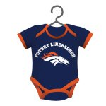 NFL Licensed Baby Shirt Onesie Ornament (Denver Broncos)