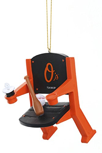 Baltimore Orioles Official MLB 4 inch x 3 inch Stadium Seat Ornament