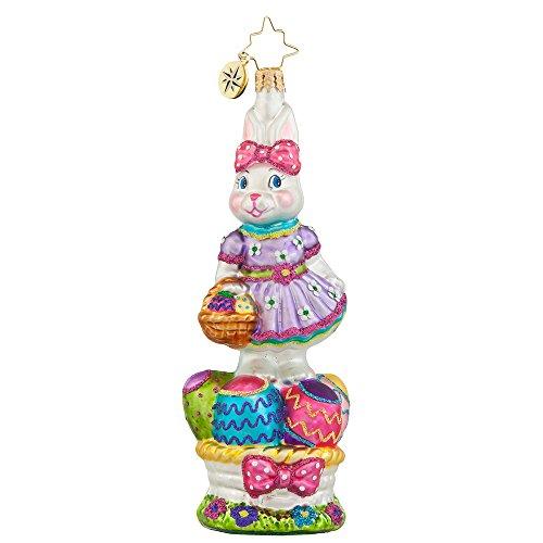 Christopher Radko Walking on Eggshells Easter Christmas Ornament