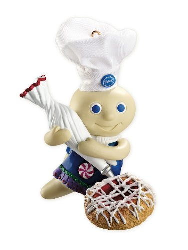 Doughboy With Spritz Cookie 2012 Carlton Heirloom Ornament
