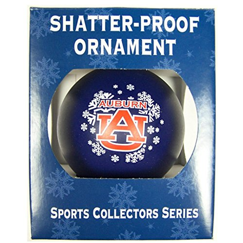 Auburn Tigers Official NCAA 3 inch Shatterproof Christmas Ornament by Topperscot