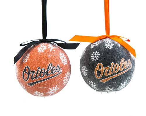 Baltimore Orioles LED Ornament Set