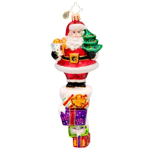 Christopher Radko – Teetering Tower – Heirloom Collectable Christmas Ornament